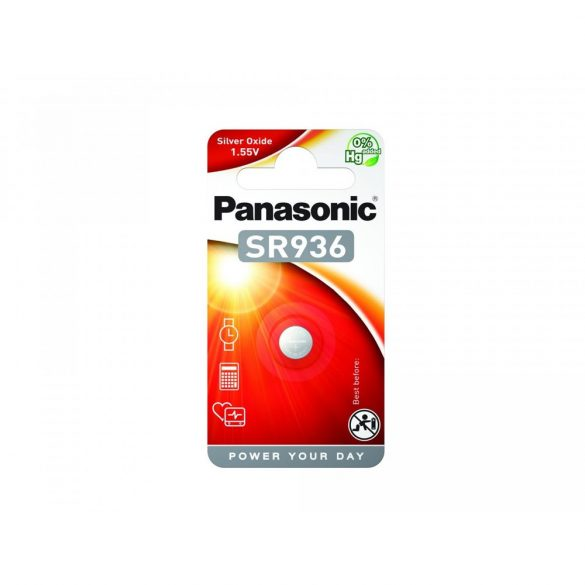 Panasonic SR-936P 1,55V ezüst-oxid óraelem 1db/csomag