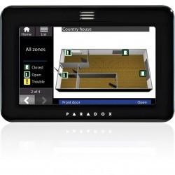 KEZELŐEGYSÉG PARADOX LCD érintőképernyős/SOL,OSM licenszekkel fekete