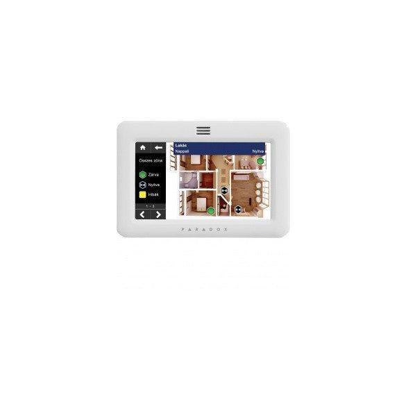 KEZELŐEGYSÉG PARADOX LCD érintőképernyős SOL,OSM licenszekkel, fehér