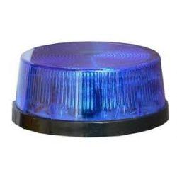 VILLOGÓ kék 12 V DC /STROB/ 75x45mm,
