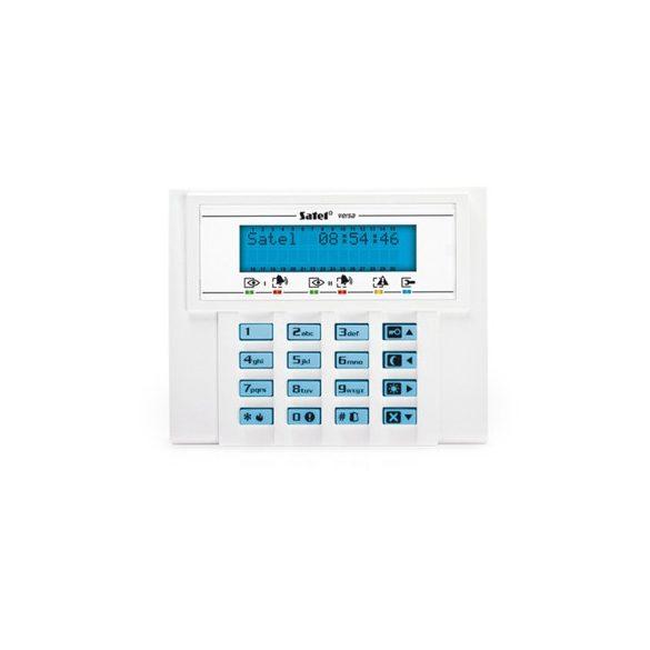 LCD kezelő VERSA központokhoz; kék háttérfény és kijelző