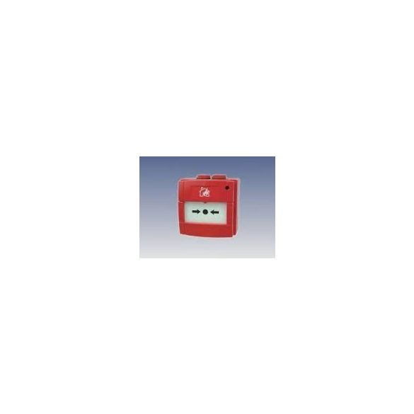 KÉZI JELZÉSADÓ hagyom. LED NO/470 ohm /Kültéri/IP67 piros Robbanásbiztos