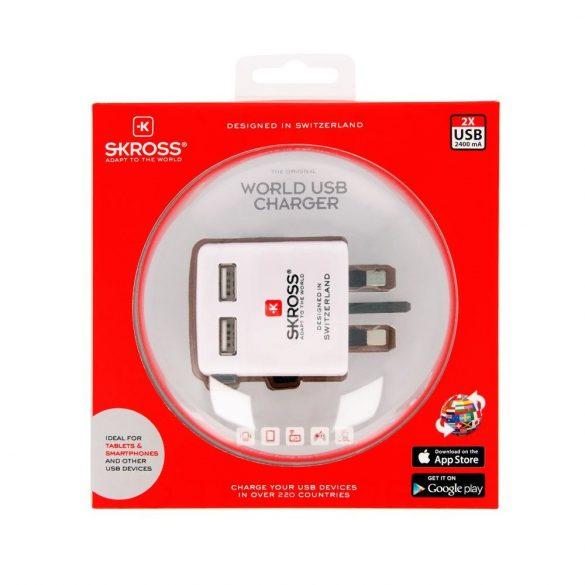 SKROSS WORLD USB töltő