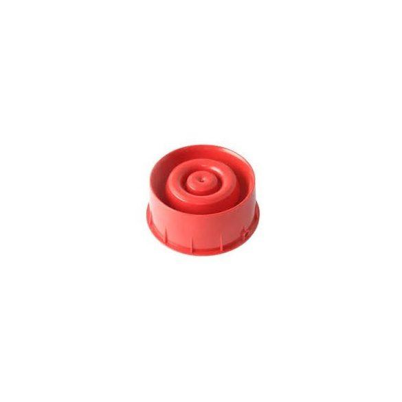 Hangjelelző Címezhető, huroktáplált, izolátorral (piros)  B501AP aljzatba szerelhető