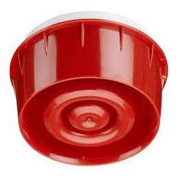 Hang és Fényjelző címzett piros LED, isolátorral (B501AP aljzatba is)
